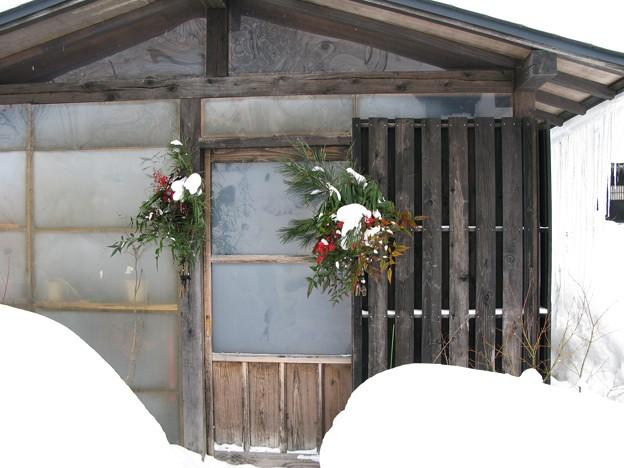 2008.01.02 鶴の湯 お正月飾り
