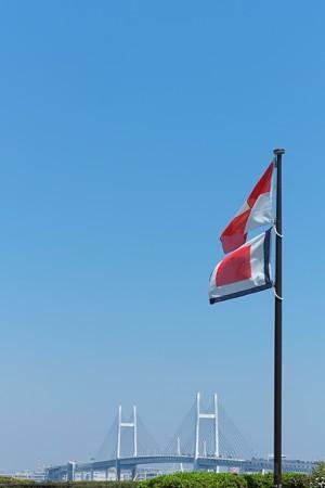 2014.04.15 山手 港の見える丘公園 UW旗