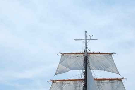 2015.05.17 みなとみらい 日本丸 総帆展帆 マスト