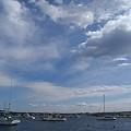 写真: ドラマチックな雲・・・