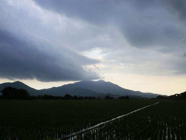 暗雲迫る筑波