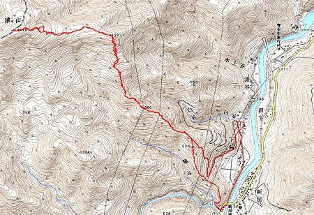 20080113猿ヶ山山スキー