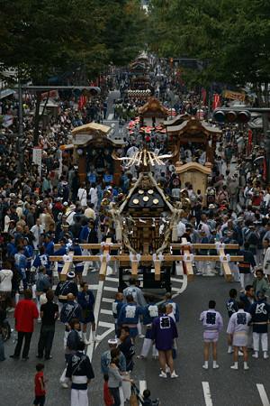 """横須賀の""""みこし祭り""""。(10/19)"""