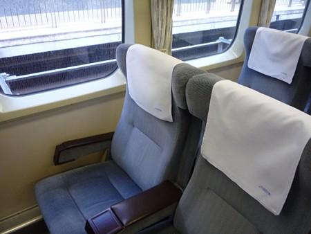 0系新幹線の座席