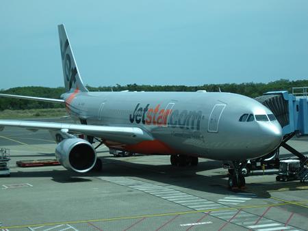 081123 帰りの飛行機
