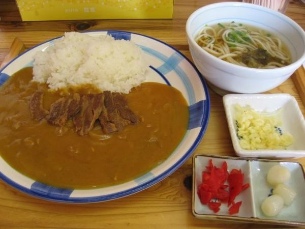 角煮カレー定食TAK