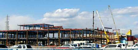 アピタ浜北店   平成20年11月1日 オープン予定で増築中-200216-1