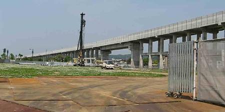 マックスバリュ東金沢駅前店 2008年11月28日 オープン予定で土地造成中