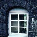 Photos: 給水塔の窓(JR肥薩線大畑駅,1998/9/30)(s109-31)