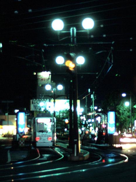 西鹿児島駅前(鹿児島市交通局唐湊線・市内第二期線,1998/9/30)(s110-13a)