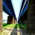 鉄橋の向こう