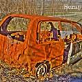 写真: 廃車