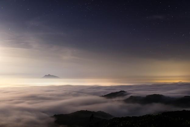 星と雲の間で