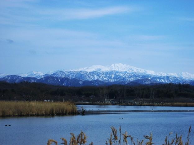 白山と木場潟
