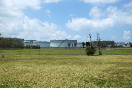 平安座島 石油基地