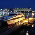 写真: 港夜景