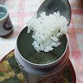 Photos: 空き缶ご飯-出来上がり