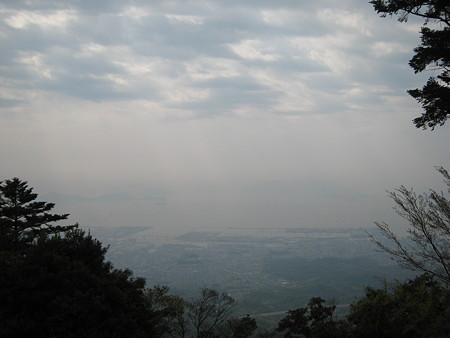 極楽寺山頂からの景色